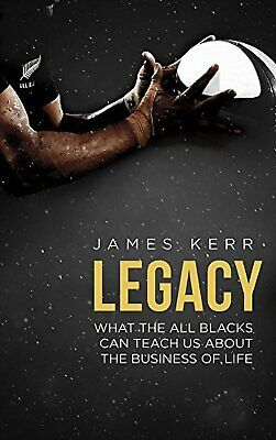Legacy by James Kerr Paperback Book NEW FREE SHIPPING