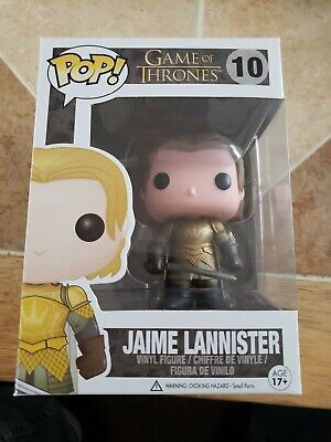 Funko Pop Game Of Thrones Gold Armor Jaime Lannister