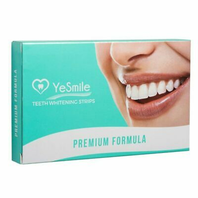 Teeth Whitening Strips by Yesmile | Mint Flavour 28 Peroxide-Free Tooth Whitenin