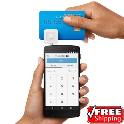 New Open Box Square Reader - Credit Card Reader for Mobile Devices
