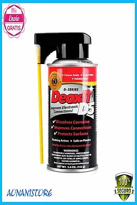 HOT Hosa CAIG Laboratories DeoxIt 5% Spray.Electrical Contact Cleaner 5oz.
