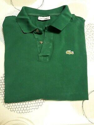 84767ab70b POLO LACOSTE vert manches longues HOMME. TAILLE 7 + 1 polo manche courte .