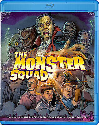 The Monster Squad (1987) Fred Dekker | Remastered | New | Sealed | Blu-ray