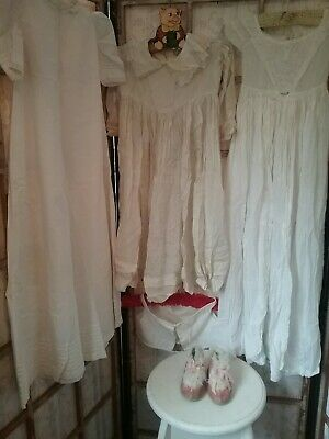 Antique Victorian Baby Clothing Lot