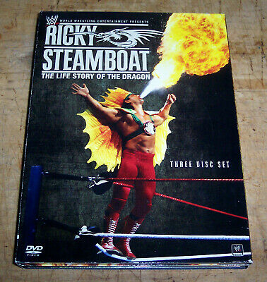 """WWE: Wrestling Ricky Steamboat """"The Life Story of the Dragon"""" (3-Disc DVD Set)"""