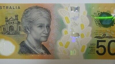 Australian New Design $50 Note - Spelling Error