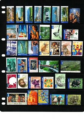 Australian International Post Stamps - 37 different - High Value - Lot 504.