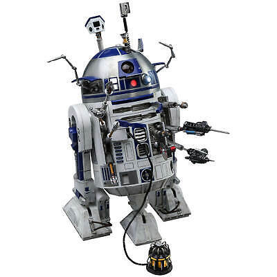 Hot Toys Star Wars R2-D2 1/6 Movie Masterpiece Action Figure 18cm Deluxe Version