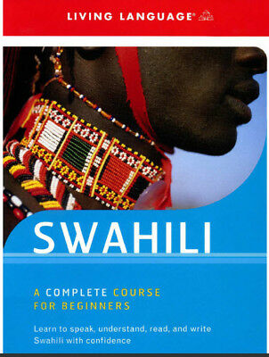 Learn to Speak Swahili; Complete Language training course on MP3 and CD