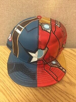 af46b192 New Era Civil War Captain America Iron Man 59Fifty Fitted 7 1/4 Avengers Hat