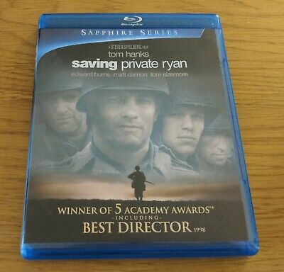Saving Private Ryan - Bluray - REGION FREE US IMPORT Sapphire series