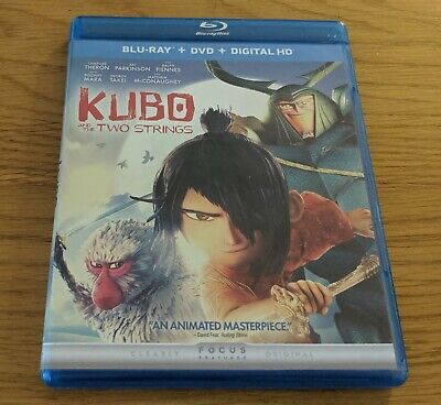 Kubo & The Two Strings - Bluray - REGION FREE US IMPORT