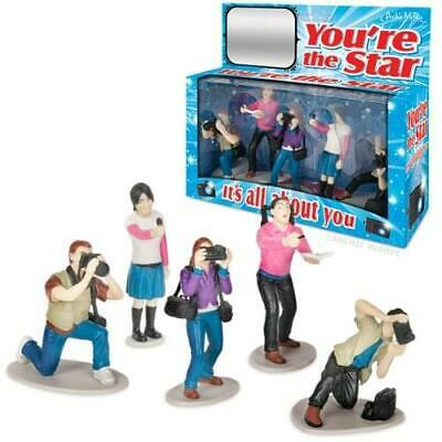 """It's All About You """"You're The Star"""" Paparazzi 5 Figure Action Playset"""