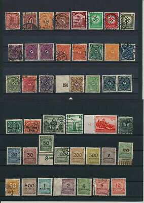 Germany, Deutsches Reich, Nazi, liquidation collection, stamps, Lot,used (CR 22)