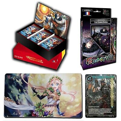 TCG display neuf FR force of will Malédiction Du Cercueil De Glace + bonus