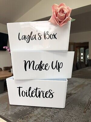 Mrs Hinch Inspired Laundry Storage Box sticker Decal//Label White//Colours//Darks