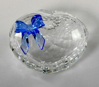 Swarovski Crystal Heart Box Retired #219966