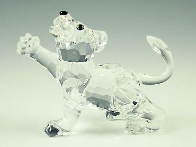 Swarovski Crystal Vintage Lion Cub Retired #210460