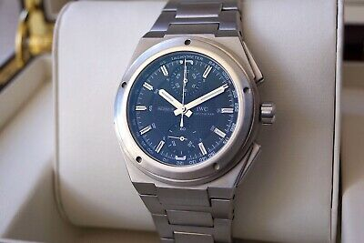 All Original Iwc Ingenieur Chronograph Ref. 372501—Automatic Cal.79350—Serviced