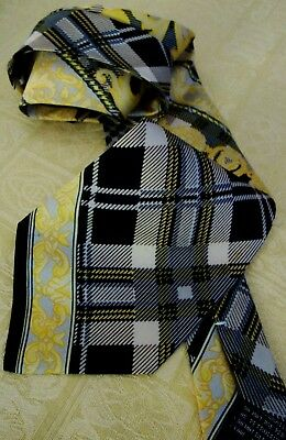 CRAVATTA TIE silk vintage 90's GIANNI VERSACE  made in Italy NEW!