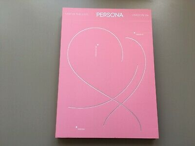 BTS 방탄소년단 - Map of the Soul: Persona Version 04 kpop CD NO PHOTOCARD, NO POSTER