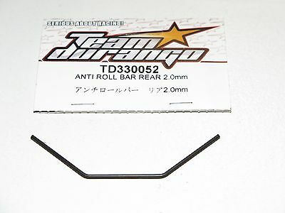 Team Durango DEX410 ANTI ROLL BAR SET FR /& RR ALU TURNBUCKLES 230031 TD230031