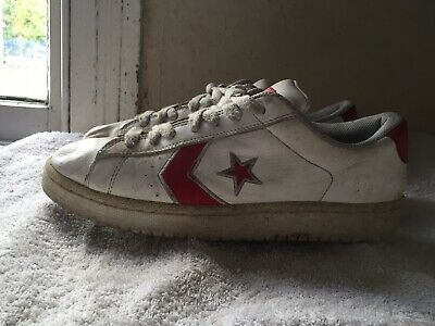 Converse Trainers Unisex Mens Womens Adults Hi Lo Top Canvas Leather Uk 10