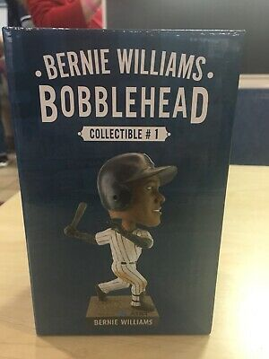 NY Yankees Bernie Williams Bobblehead 4/12/19 SGA Yankee Stadium New York