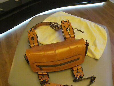 Chloe Vintage Tan Leather  Bag, Handbag Genuine & Authentic