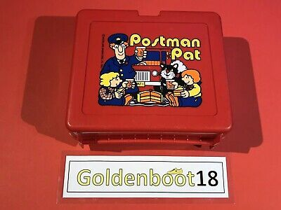 Vintage 1983 Postman Pat Lunch Box Bluebird Swindon England