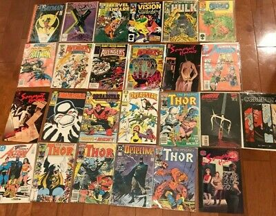 EXCELLENT Comic Book Lot of 25 Comics Marvel DC Indy AVENGERS ANNUALS FREE SHIP