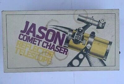 Jason Comet Chaser Reflector Telescope 480 In Original Box Great Condition