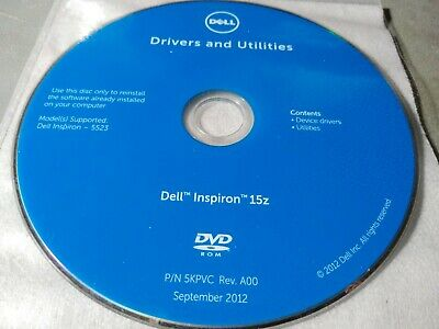 DRIVERS RECOVERY RESTORE Repair Dell Inspiron 15z (5523) 17