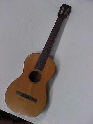 Antique 1850's James Ashborn Parlor Guitar William Hall & Son for Restore