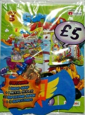 Superzings Rivals Of Kaboom Series 3 Sealed Starter Pack