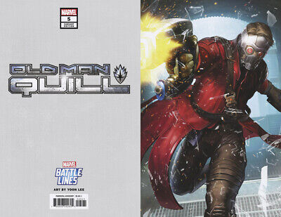 Old Man Quill #5 (Marvel 2019) Yoon Lee Battle Lines Variant