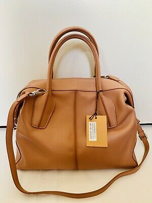 ed43993c9c AUTH TOD'S D Styling Smooth Leather Tote Bag Detachable Strap Ruby ...