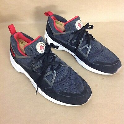 the best attitude 60be0 5096e Nike Air Huarache Light Black university Red wolf Grey 306127-006 Men s Size