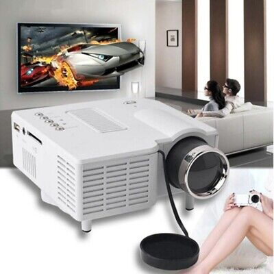 HD Smart Android Projector Home Cinema LED WiFi Movie Video Bluetooth 1080p HDMI