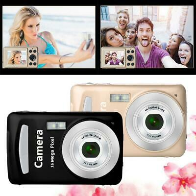 """2.7"""" Digital Camera LCD Screen 16MP 4X Zoom Camcorder for Home Travel Use"""