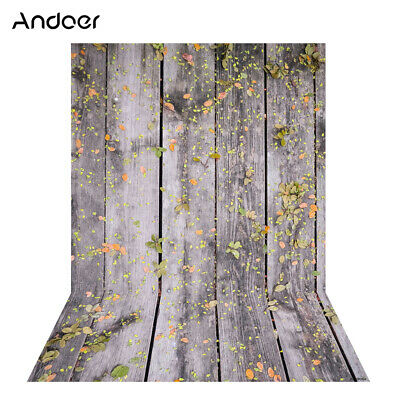 Andoer 1.5 * 2m Photography Background Backdrop Digital Printing Wood E9Y4