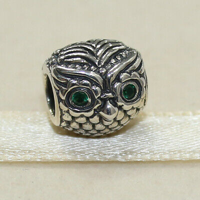 f8815ce55 New Authentic Pandora Charm Sterling Silver Wise Owl 791211CZN W Tag &  Suede Pou