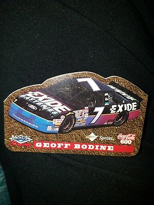 Geoff Bodine Coca-Cola Interactive Die-Cut Racing (Coke 600) Phone Card