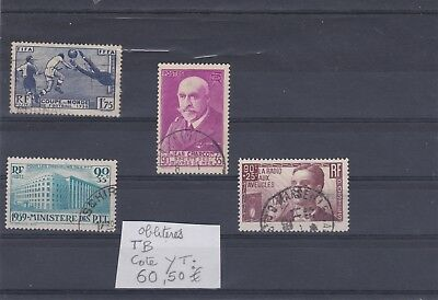France Timbres Anciens Obliteres