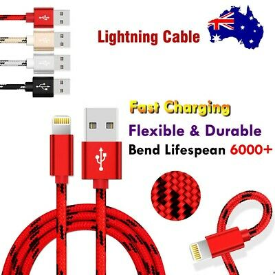 1M 2M 3M USB Lightning Fast Charging Charger Cable For Apple iPhone iPad iPod