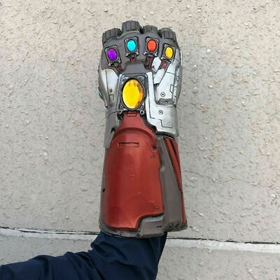 Avengers Endgame Infinity Gauntlet Iron Man Tony Stark Gloves Cosplay IN STOCK