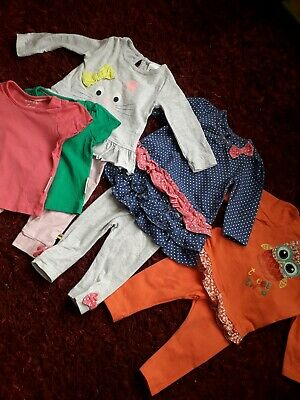 3-6 month baby girl outfit bundle Mothercare