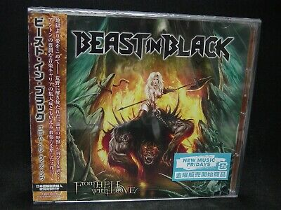 BEAST IN BLACK From Hell With Love + 2 JAPAN CD Battle Beast Wisdom Epic Metal !