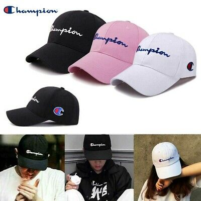 Champion Logo Embroidered Baseball Cap Hip Hop Sports Hat Unisex Caps Snapback