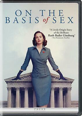On The Basis Of Sex [2018] [Dvd] Disk Only.